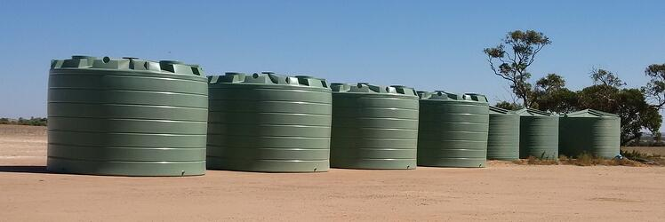 Never run short here with 280,000Ltrs of Water Storage for Spraying in the Wheatbelt