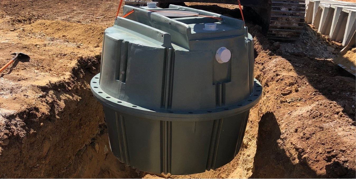 Coerco Septic Tank to be buried