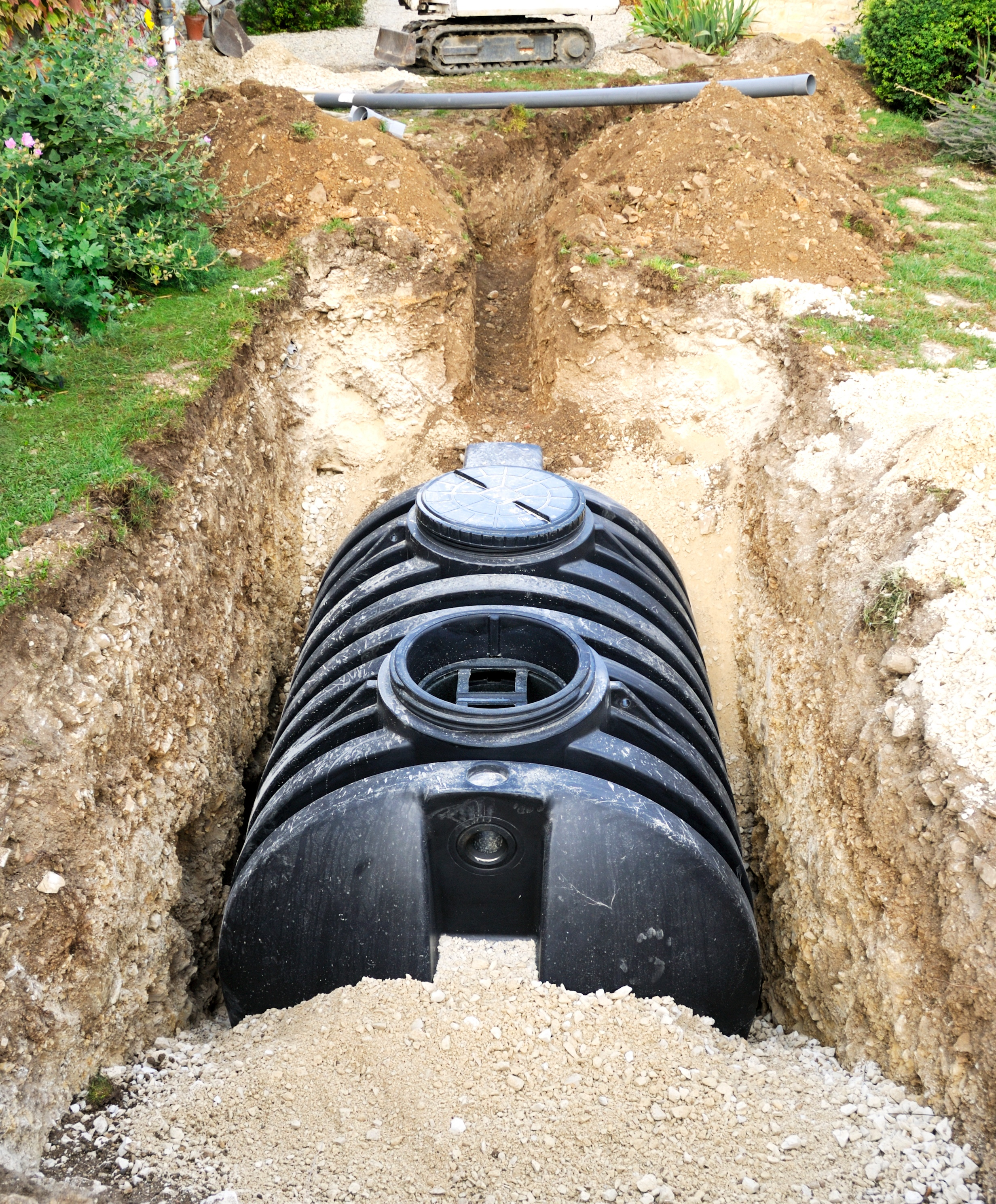 underground poly water tank